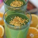 GREEN GIANT SMOOTHIE WITH BEE POLLEN