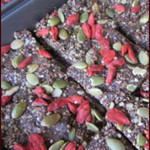 RAW GOJI AND PUMPKIN SEED POWER BARS