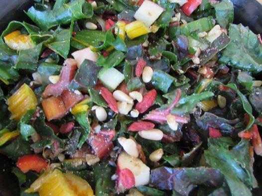Swiiss Chard Salad