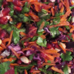 REFRESHING WINTER SLAW WITH RASPBERRY DRESSING