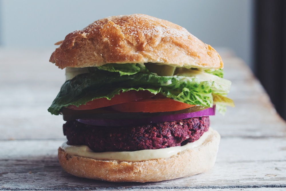 Toronto Nutritionist Janet Zdichavsky Healthy Smoky BBQ Beet Burger
