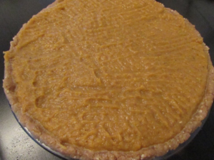 Toronto Nutritionist Janet Zdichavsky Pumpkin Coconut Cream Pie w Drizzled Chocolate + Walnut Crust 3